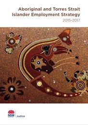 Cover of the Aboriginal and Torres Strait Islander Employment Strategy 2015-2017