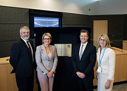 Official opening of the Forensic Medicine and Coroners Complex at Lidcombe
