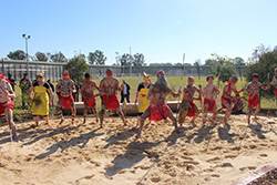 Traditional dances at the official opening of Cobham Learning Circle