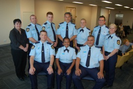 Sheriff's Officers 2014 graduation ceremony