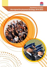 Cover of the Aboriginal and Torres Strait Islander Employment Strategy 2019-2022
