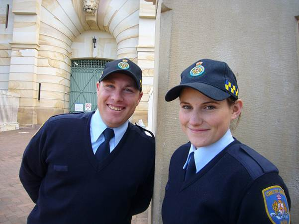 photos of new corrective services recruits