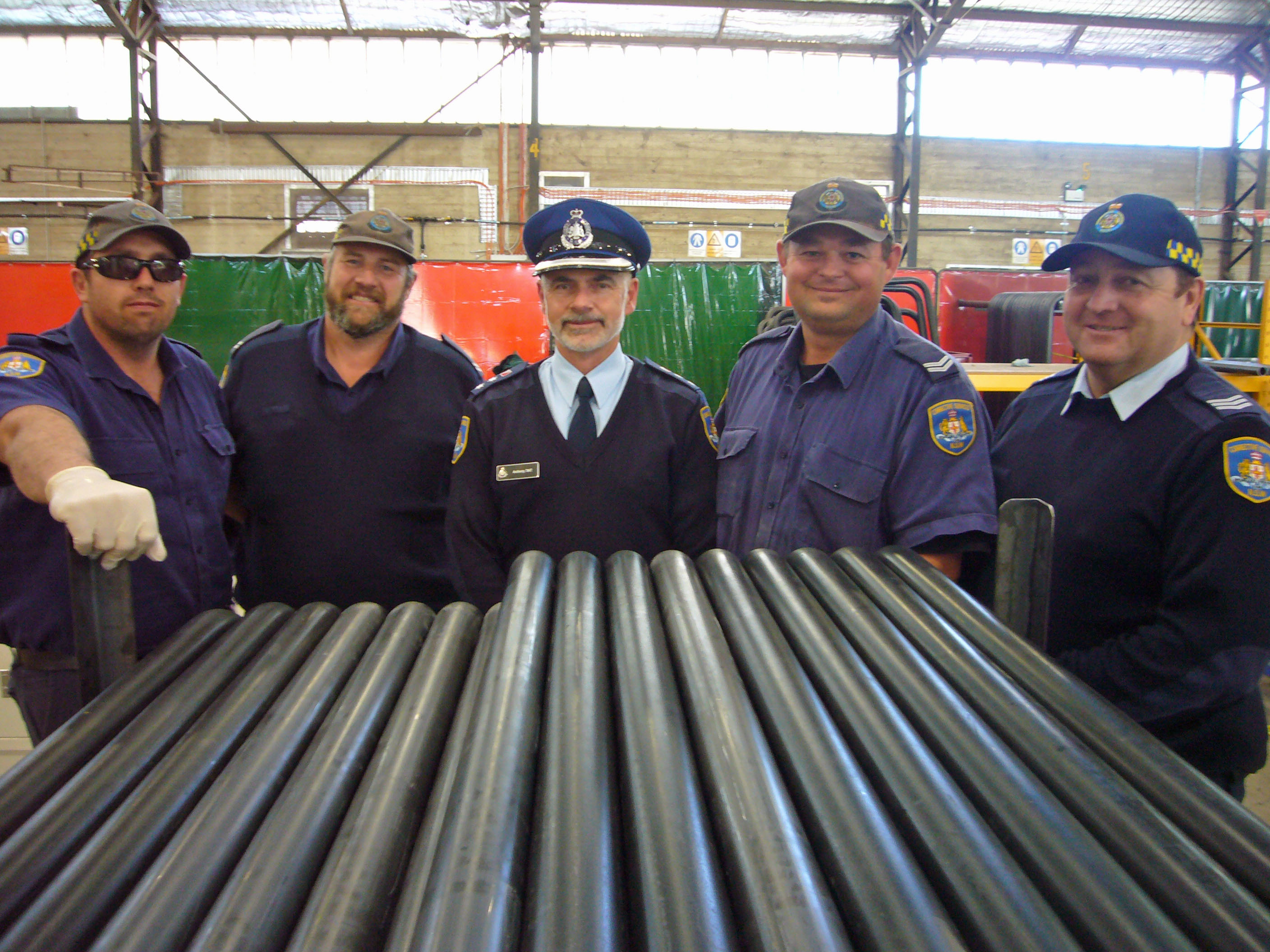 CSI Kirkconnell boss Anthony Tait and engineering overseers