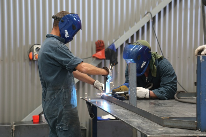 Macquarie Correctional Centre - Metal Workshop 3 - Courtesy CSNSW