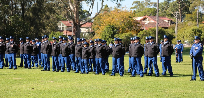 New recruits graduating at Brush Farm Academy