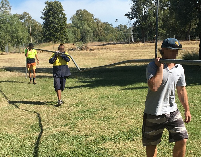 Offenders working together in Moree