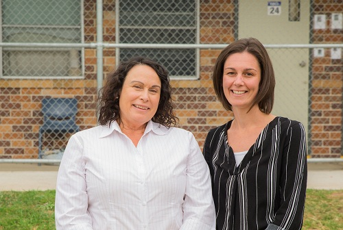 Sheryl Mitchell and Ashleigh Madaschi - IRC - Courtesy CSNSW
